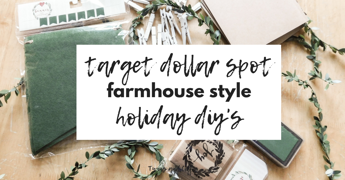 Target Dollar Spot Holiday DIY Ideas for Christmas Cards and ...